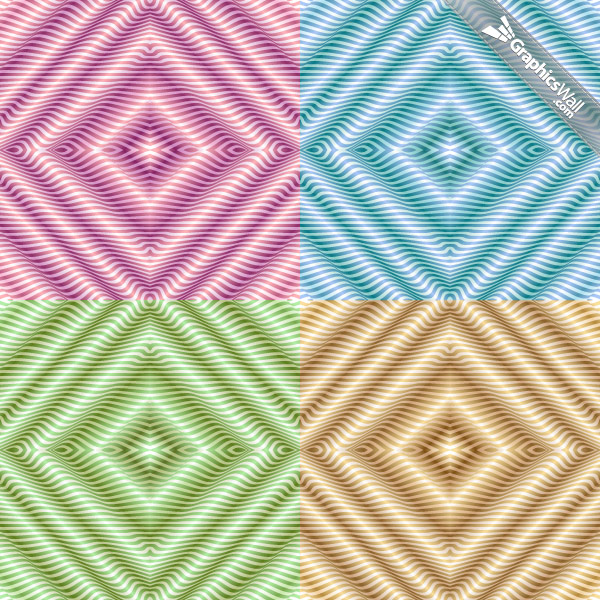 Four Seamless Vector Patterns