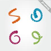 Cubes Array - Design Vector Elements