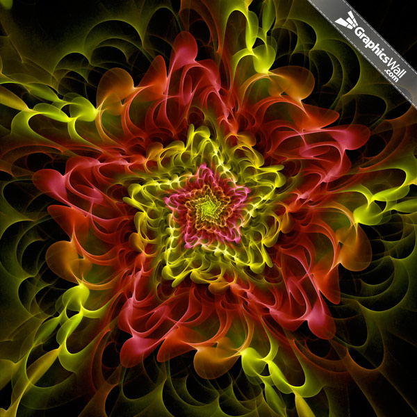 Abstract Fractal Graphic 01