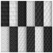 Gray Seamless Pattern Set for Web Designers