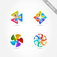 3-4-5-6 Logo Vector Elements Set 3