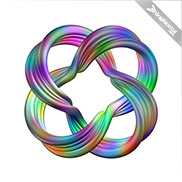 Torus Link -  Colorful 3D Model