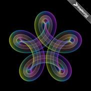 Twist Circles - Vector Art 05