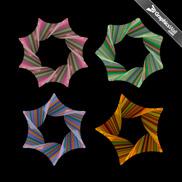4 Vector Geometric Figures